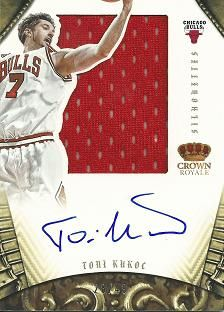 2012-13 Panini Preferred #246 Toni Kukoc SL JSY AU /49