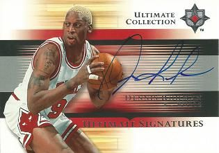 2005-06 Ultimate Collection Signatures #USDE Dennis Rodman