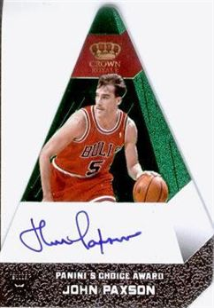 2012-13 Panini Preferred Green #27 John Paxson PC AU/5