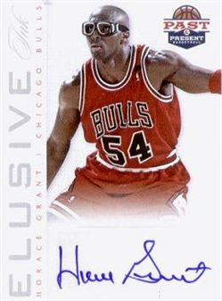 2012-13 Panini Past and Present Elusive Ink #12 Horace Grant