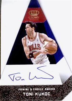 2012-13 Panini Preferred Blue #95 Toni Kukoc PC AU/49