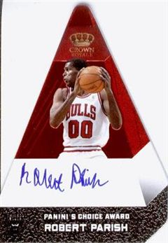 2012-13 Panini Preferred #81 Robert Parish PC AU/25