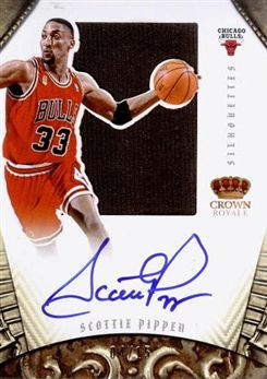 2012-13 Panini Preferred #271 Scottie Pippen SL JSY AU/15