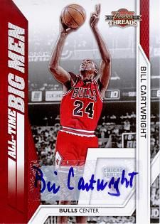 2010-11 Panini Threads All-Time Big Men Autographs #15 Bill Cartwright /49