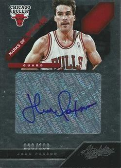 2012-13 Absolute Marks of Fame Autographs #41 John Paxson