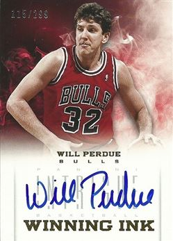 2012-13 Panini Intrigue Winning Ink #22 Will Perdue 299