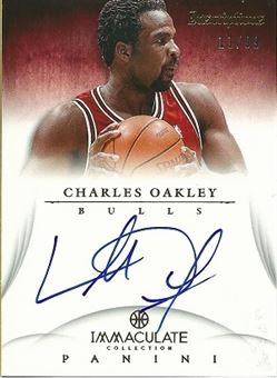 2012-13 Immaculate Collection Inscriptions #CO Charles Oakley /99