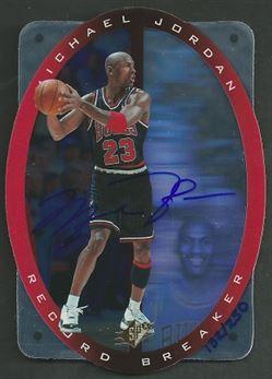 1996 UDA SPx Record Breaker Michael Jordan #R1 Michael Jordan