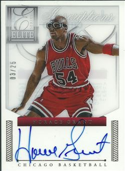 2012-13 Elite Series Veteran Inscriptions Autographs #9 Horace Grant