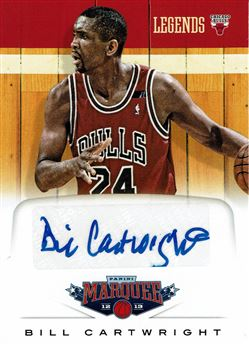 2012-13 Panini Marquee Legends Signatures #48 Bill Cartwright
