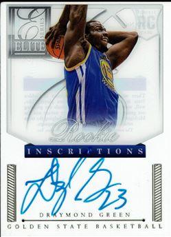 2012-13 Elite Series Rookie Inscriptions Autographs #17 Draymond Green