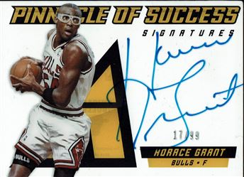 2013-14 Pinnacle Pinnacle of Success Autographs #28 Horace Grant