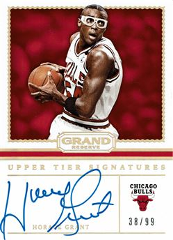 2016-17 Panini Grand Reserve Upper Tier Signatures #18 Horace Grant