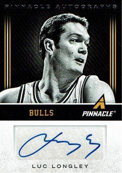2013-14 Pinnacle Autographs #130 Luc Longley