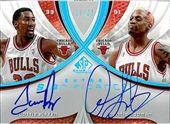 Chicago Bulls Champions Autographs