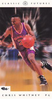 1993 Classic Futures #52 Chris Whitney