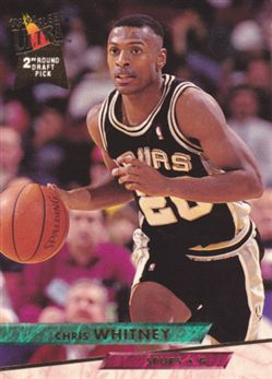 1993-94 Ultra #341 Chris Whitney RC