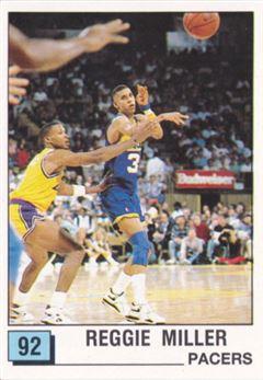 1989-90 Panini Stickers Spanish #92 Reggie Miller