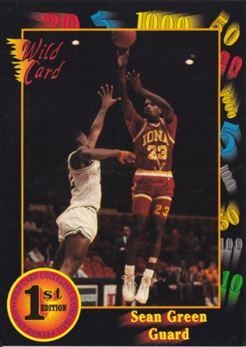 1991-92 Wild Card #37 Sean Green