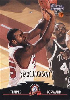 1997 Score Board Rookies #3 Marc Jackson