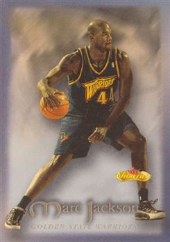 2000-01 Fleer Showcase #121 Marc Jackson RC