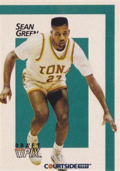 1991 Courtside #24 Sean Green