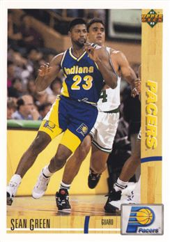 1991-92 Upper Deck #421 Sean Green RC