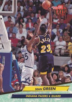 1992-93 Ultra #274 Sean Green