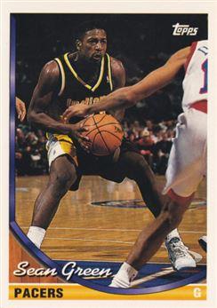 1993-94 Topps #59 Sean Green