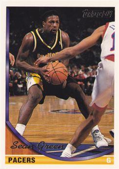 1993-94 Topps Gold #59 Sean Green