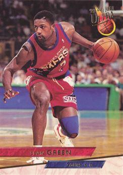 1993-94 Ultra #312 Sean Green
