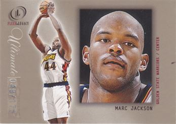 2000-01 Fleer Legacy Ultimate Legacy #112 Marc Jackson