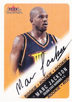 2000-01 Fleer Glossy #246 Marc Jackson AU RC