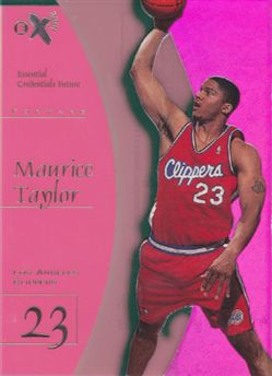 1997-98 E-X2001 Essential Credentials Future #69 Maurice Taylor /12