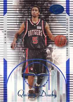 2006-07 Bowman Elevation Blue #97 Quincy Douby