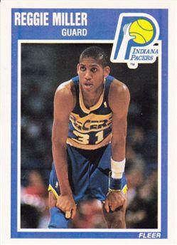 1989-90 Fleer #65 Reggie Miller