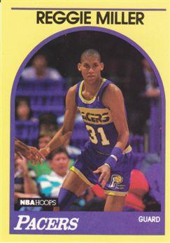 1990 Hoops 100 Superstars #40 Reggie Miller