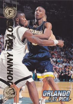 1997 Press Pass Double Threat #17 Johnny Taylor