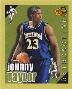 1997 Press Pass Double Threat Retroactive #RA17 Johnny Taylor