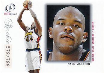 2000-01 Fleer Legacy #112 Marc Jackson