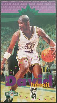 Fleer - NBA Jam Session - #107 David Benoit