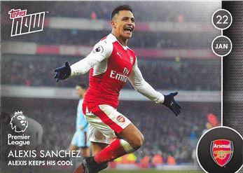 2016-17 #43 Alexis Sanchez - Arsenal: Alexis Keeps His Cool