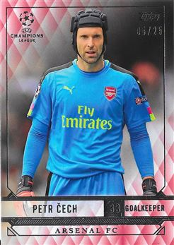 2016-17 Topps CL Showcase Base Petr Cech Red