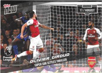 2017-18 #1 Olivier Giroud - Arsenal : Super Sub Settles Thriller