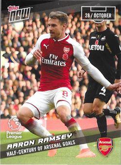 2017-18 #46 Aaron Ramsey - Arsenal : Half-Century of Arsenal Goals