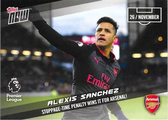 2017-18 #63 Alexis Sanchez - Arsenal : Stoppage-Time Penalty Wins it for Arsenal!