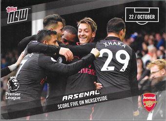 2017-18 #44 Arsenal : Score Five on Merseyside