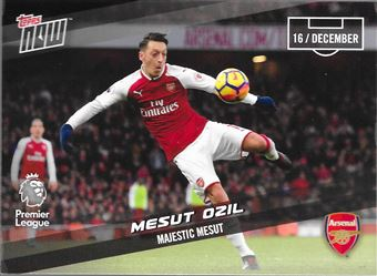 2017-18 #85 Mesut Ozil - Arsenal : Majestic Mesut