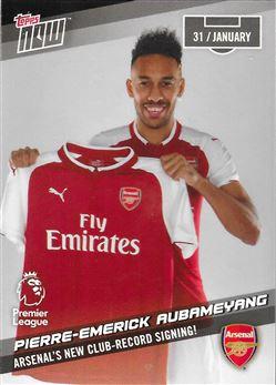 2017-18 #112 Pierre-Emerick Aubameyang - Arsenal : Arsenal's New Club-Record Signing!