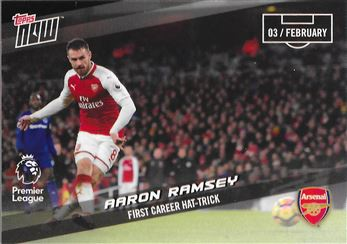 2017-18 #116 Aaron Ramsey - Arsenal : First Career Hat-Trick